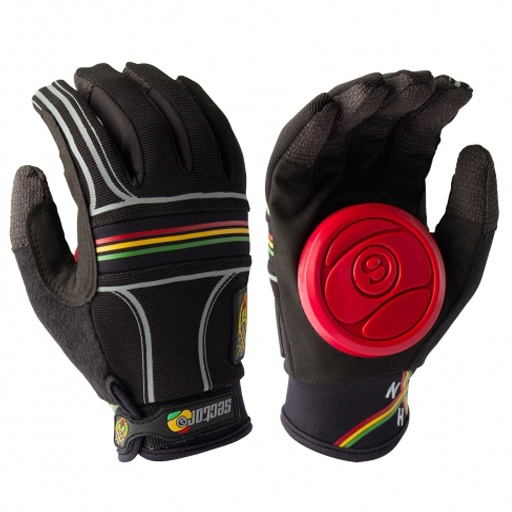 Sector 9 BHNC Slide Gloves (Rasta) $39.95