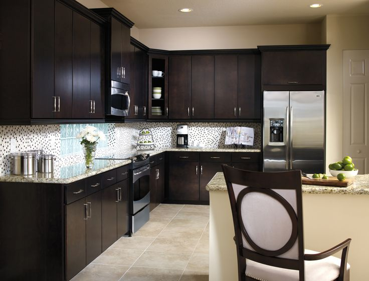 Lovely ... Clean Lines Of Teagan Slab Cabinet Doors Deliver Modern Sophistication  While Retaining ...