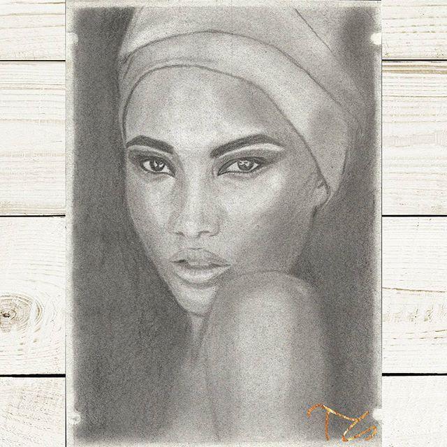 #art #drawings #drawingart #graphiteart #pencilart #instaartist #faces #women