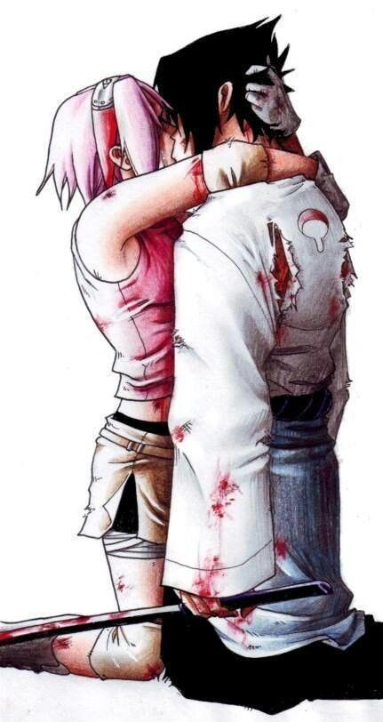 Sakura x Sasuke <3 i ship this... stay away from naruto sakura...thats hinatas territory