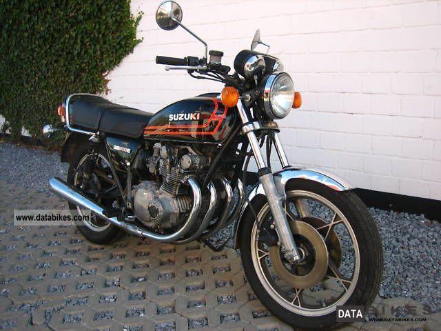 1980 suzuki 650 4 cylinder bike   1980 suzuki gs 500 4 cylinder