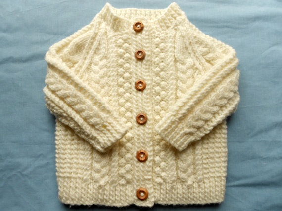 wish my grandma was still around to knit one of these. Baby girl sweater in