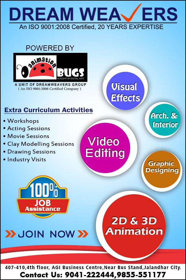 Best Animation Institute Jalandhar