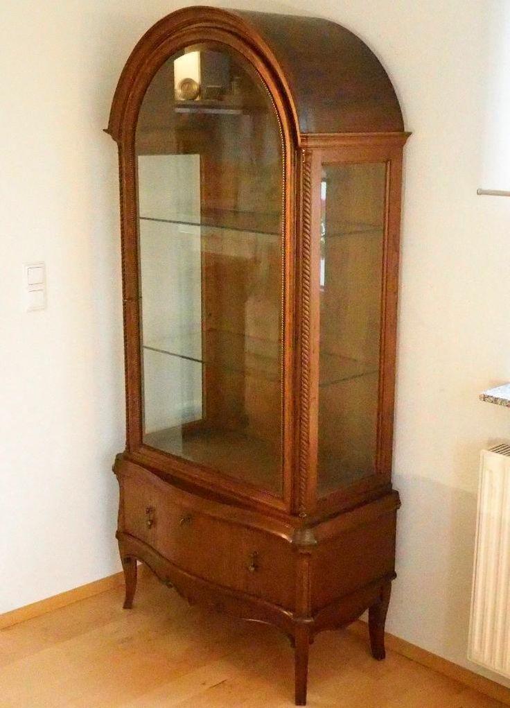 Antik Antiquitt Glasvitrine Um 1910 In Baden Wrttemberg