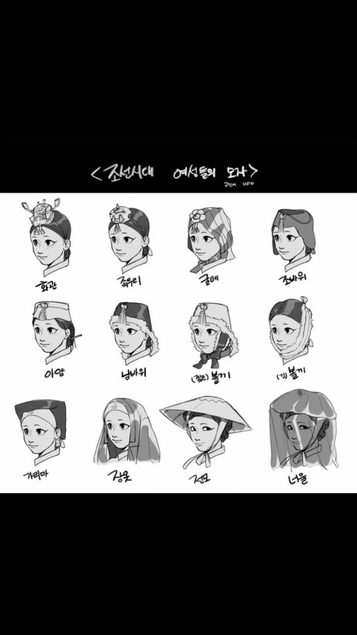 Korean traditional hat for female