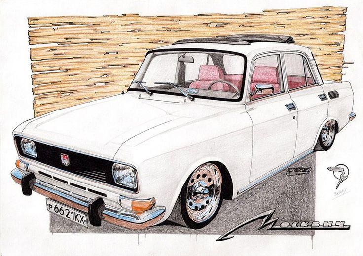 Москвич 2140 ''Кукурузник'' '82