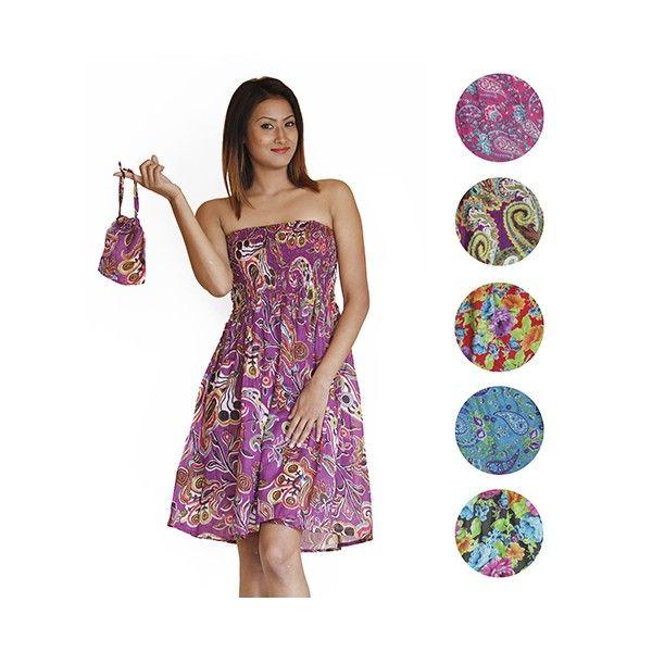 TRAVEL TUBE letní minišaty/sukně - fair trade oblečení z biobavlny, bambusu, konopí, modalu, tencelu a merino, přírodní kosmetika, bambucké máslo, fairtrade bytové doplňky
