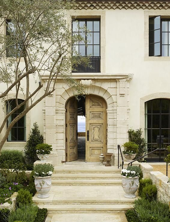 Best French Country Exterior Images On Pinterest - French country front door