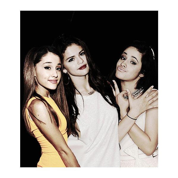 ♥ alexis's ♥ ❤ liked on Polyvore featuring ariana grande, manip y selena gomez