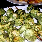 Chicken Hariyali Tikka (I have no idea what exactly that means but it sounds delicious!!)