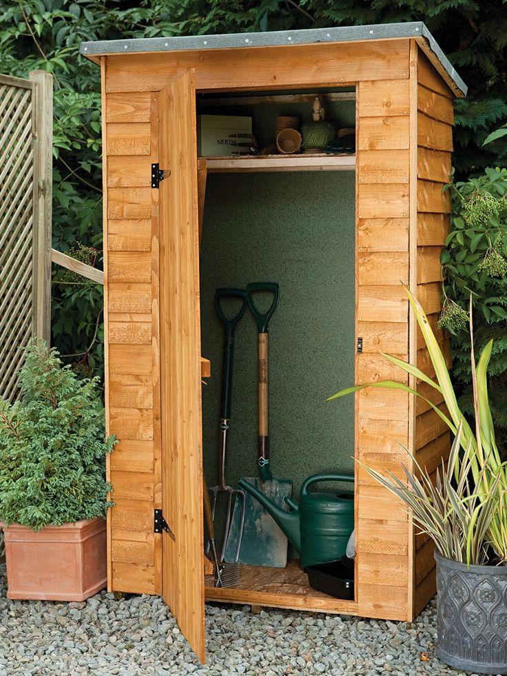 Die besten 25 tool sheds ideen auf pinterest gartenhaus for Very small garden sheds