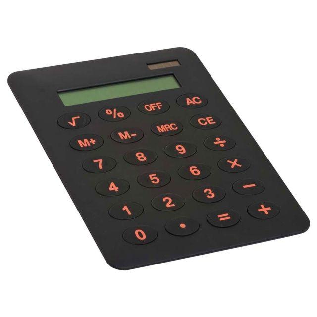 Duży kalkulator z wielkimi przyciskami wielkości A4.