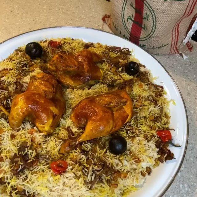 كبسة الدجاج استخدمت في هالوصفه رز الرشيد الدمام عنبر الرز ممتاز وحبته طويله ونثري وما يتكسر Alrasheedco Easy Dinner Recipes Easy Dinner Dinner Recipes