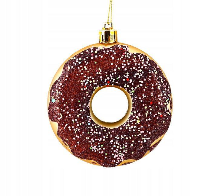 Bombki Choinkowe Zestaw 3 Szt Dekoracje Donut 8 Cm 8547997991 Allegro Pl Holiday Decor Christmas Ornaments Novelty Christmas