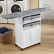2 basket cottage style ironing board. I wonder if my handy husband could make this???