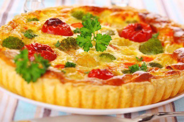 Quiche de verduras - Univision Cocina