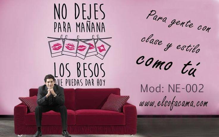 Sofá rojo innovador y con carácter para gente con estilo como tú. http://www.elsofacama.com/comprar/sofa-online/