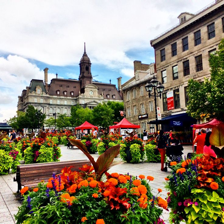 Montreal, Place Jacques Cartier