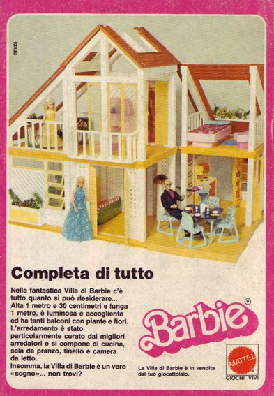 Inspirational Barbie Dream House Foreign Ad