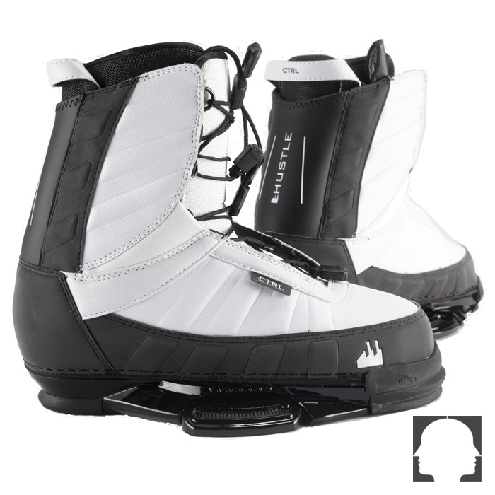 CTRL Hustle White Boot 2013 wakeboard@ Pulse-Store.com