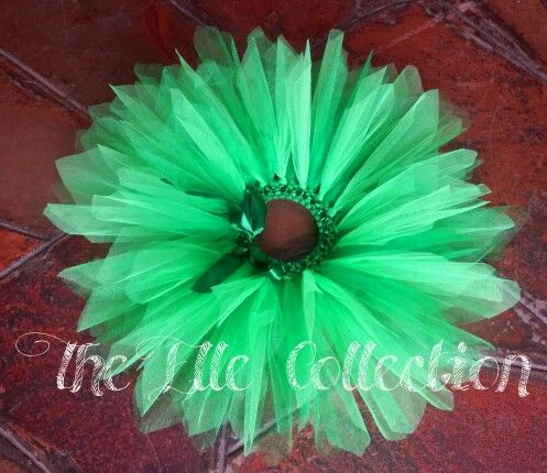 Tinkerbell green tutu skirt custom made by the Elle Collection in South Africa.  To order email Karin on theellecollection13@gmail.com