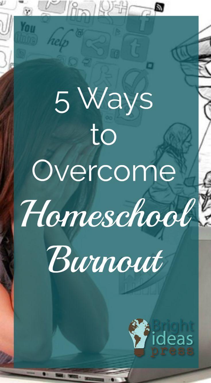 Encouragement for #homeschool moms | Tips for overcoming homeschool burnout