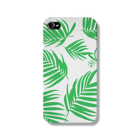 Newport Palm Green iPhone 5 Case from The Dairy www.thedairy.com #TheDairy