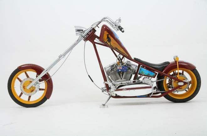 occ choppers | OCC Australia Chopper - repined by http://www.vikingbags.com/ #VikingBags