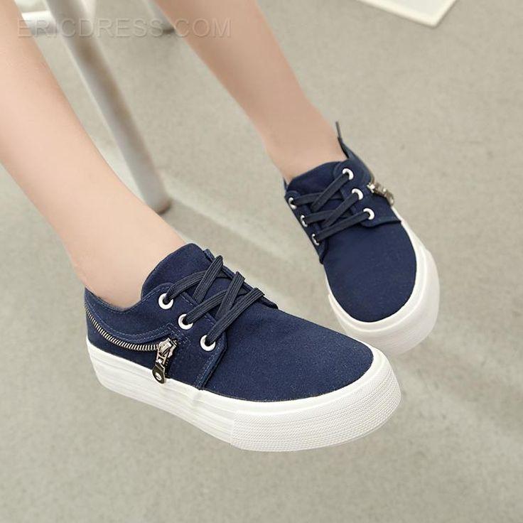 zapatos de lona ocio cómodo nueva moda pisos