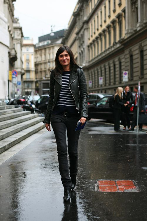 On The Street………The Impossible Emmanuelle Alt, Milan « The Sartorialist