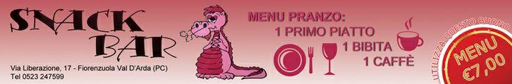La pausa pranzo non è mai stata così economica come allo Snack Bar! Primo, bibita e caffè a soli € 7,00! www.ibuonidelborgo.it  #sconti #coupon #omaggio