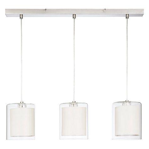 119 best lighting images on pinterest ceiling lamps pendant lamps buy house by john lewis wayward triple bar pendant online at johnlewis aloadofball Images