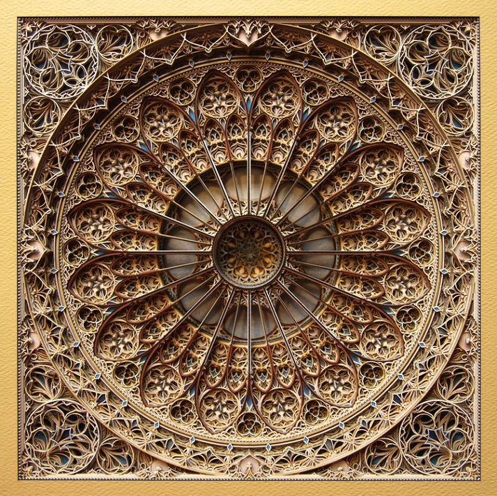 Laser Cut Art by Eric Standley: 100s of Layers of Amazing Beauty