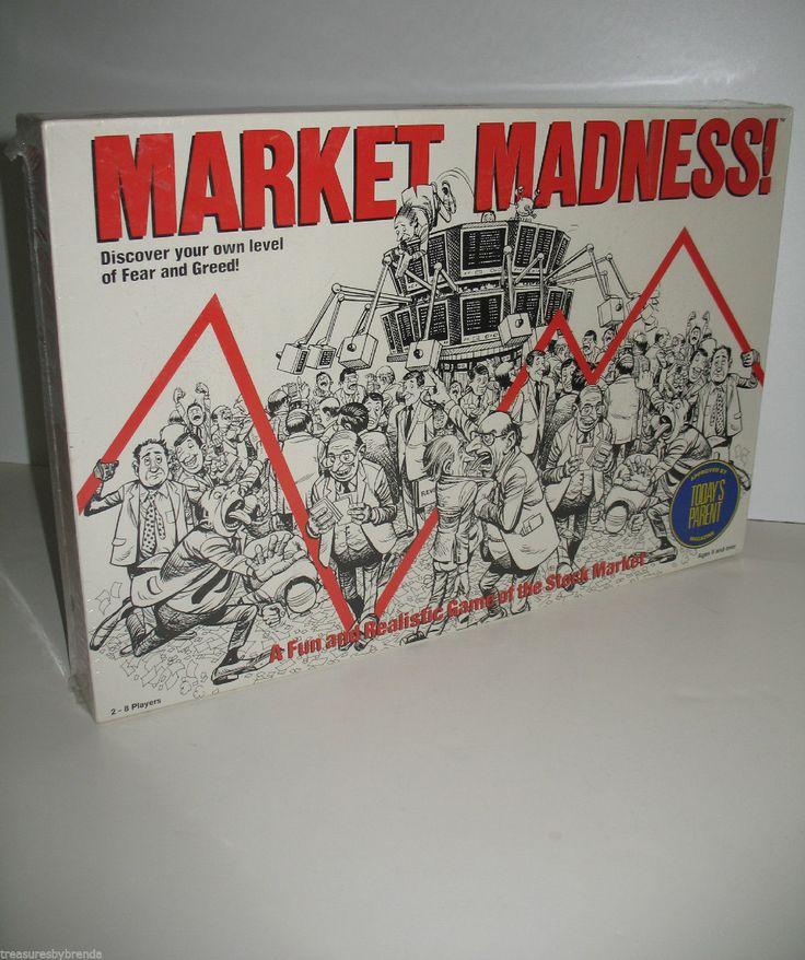 Market Madness A Fun & Realistic Board Game of the Stock Market. #stockmarket #boardgames #ck