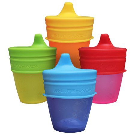 Boon Free Shipping! 3 Pack Pink//Purple//Blue Boon Snug Silicone Sippy Lids