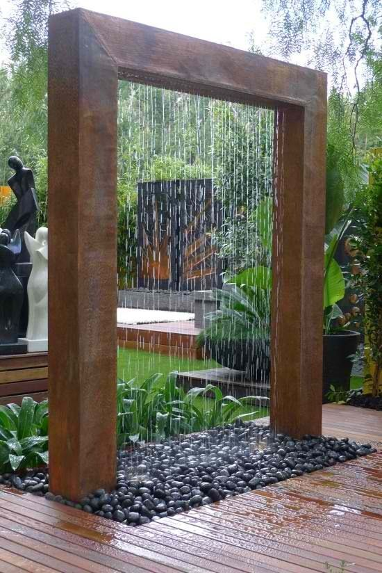 pvc projects | PVC pipe and wood, pretty shower fountain | PVC projects