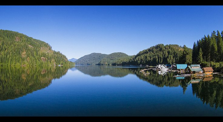 Great Central Lake Morning Looking west over Great Central Lake in the Alberni Valley on Vancouver Island. #HeartOfVancouverIsland #HOVI #PortAlberni #AlberniValley #ExploreBC #GreatCentralLake #Floathome #cabin #WegoCanada #Canada #VancouverIsland