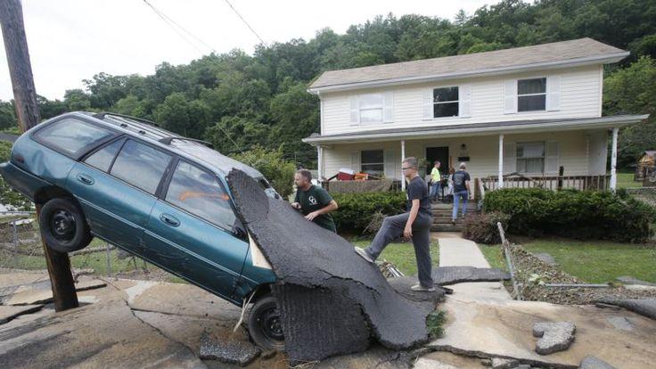 Batı Virginia'da Sel Felaketi