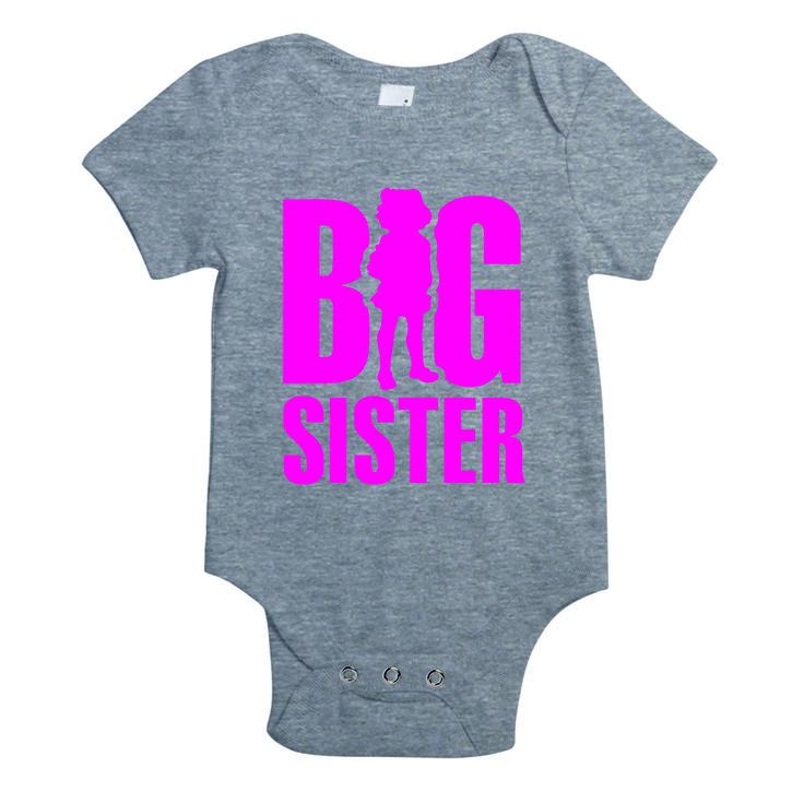 Big sister - baby rompertje