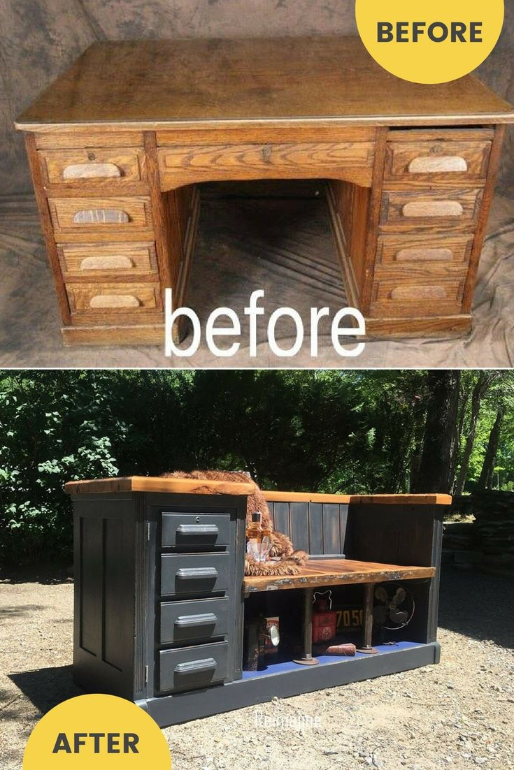 How To Repurpose Furniture best 25+ repurposed desk ideas only on pinterest | shutter