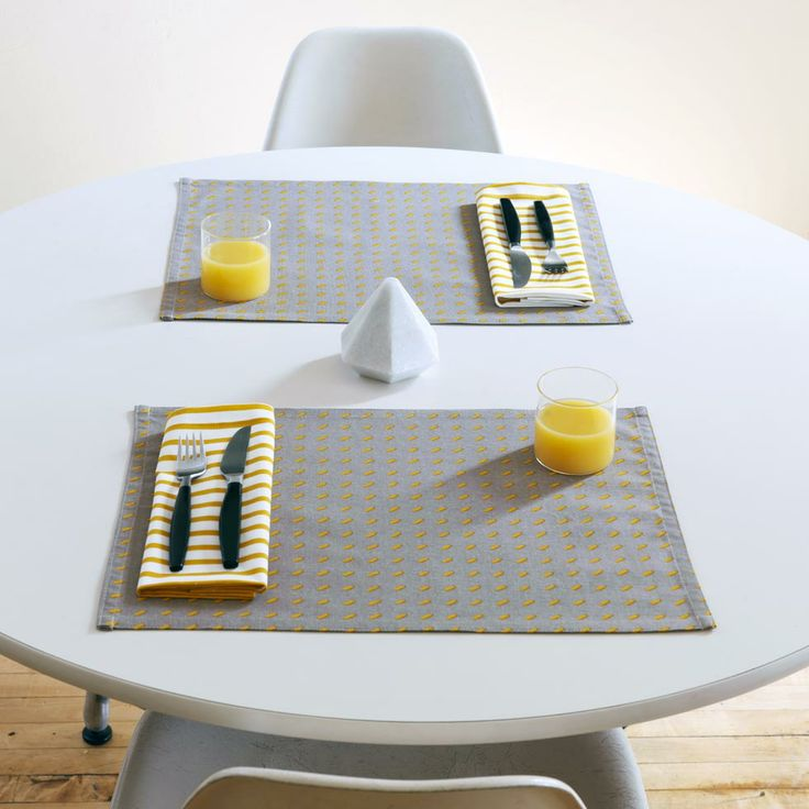 Placemats | Modern Home Decor - Modern Home Accessories - Modern Home Furnishings | Unison | Catalog
