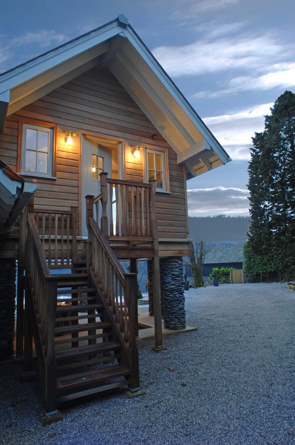 The Osprey, Luxury self catering boathouse Lake Windermere, luxury self catering boat house Lake Windermere with private mooring