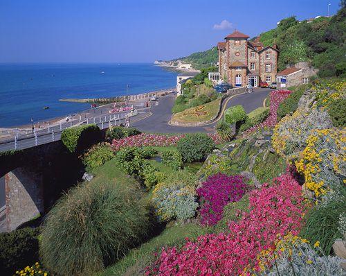 The beautiful seaside resort of Ventnor, Isle of Wight, England  | VK Guy Ltd Stock Landscape Photography