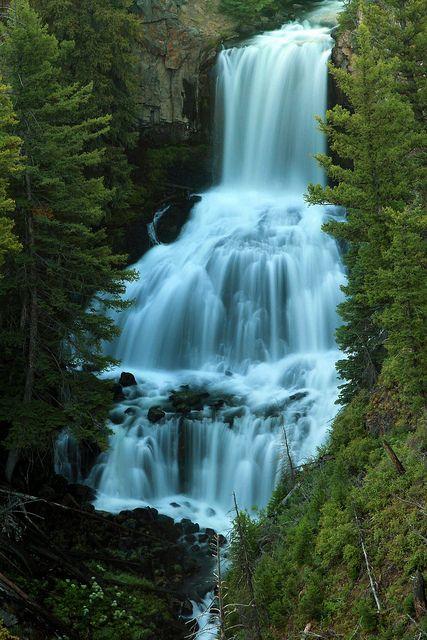 Undine Falls, Wyoming