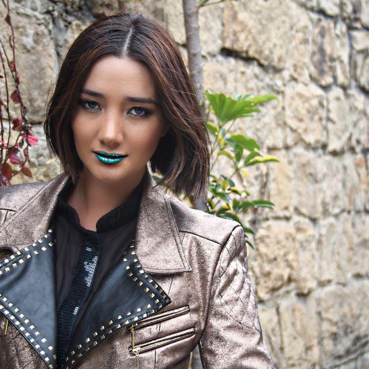 Rock star - style - fashion - metalicos - make up - makeup - green - verde - maquillaje metalizado - blogger - fashion blogger - solcastao.com