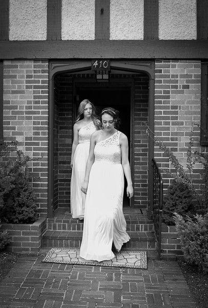 Bridesmaids Melina Black Photography