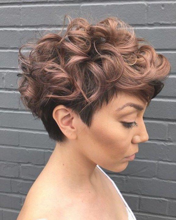 Frisuren Frauen Dauerwelle #dauerwelle #frauen #frisuren ...
