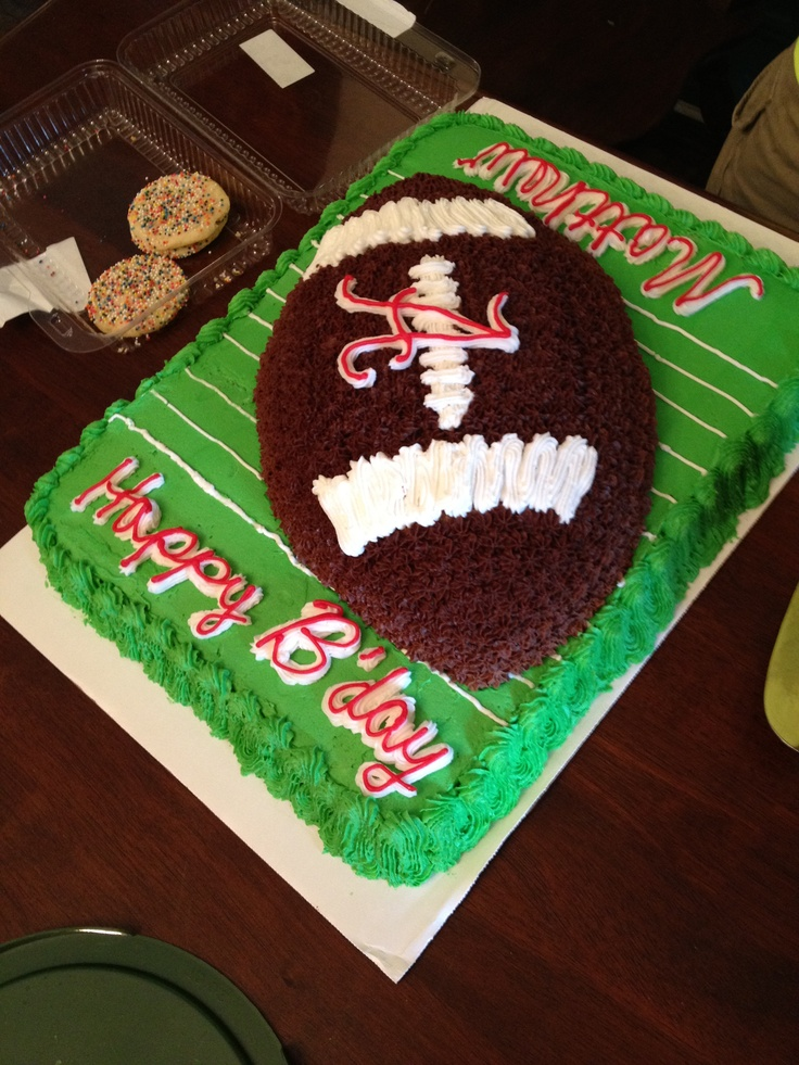 Alabama birthday cake made by Rhonda Arrowood! It was delicious.