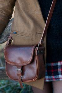 Le nostre borse in pelle, diventano dettagli di rilievo nello stile retrò