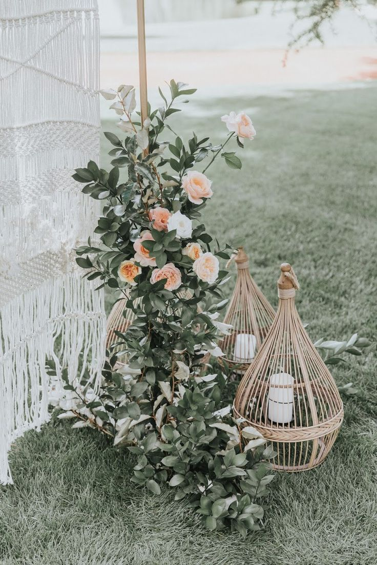 Ceremony details. Design by Emma Blake Floral / Photography by Jonathan David